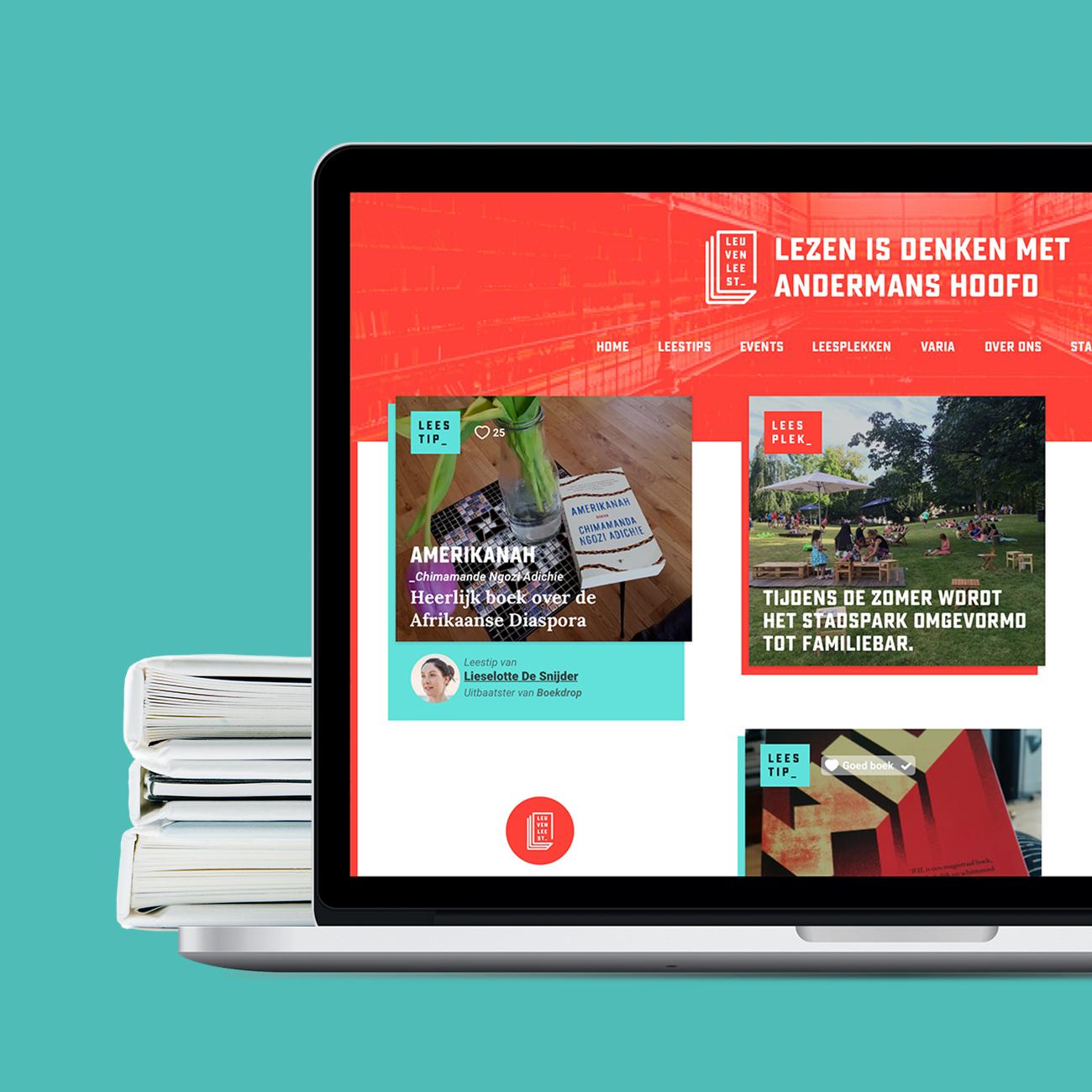 Leuven Leest Website