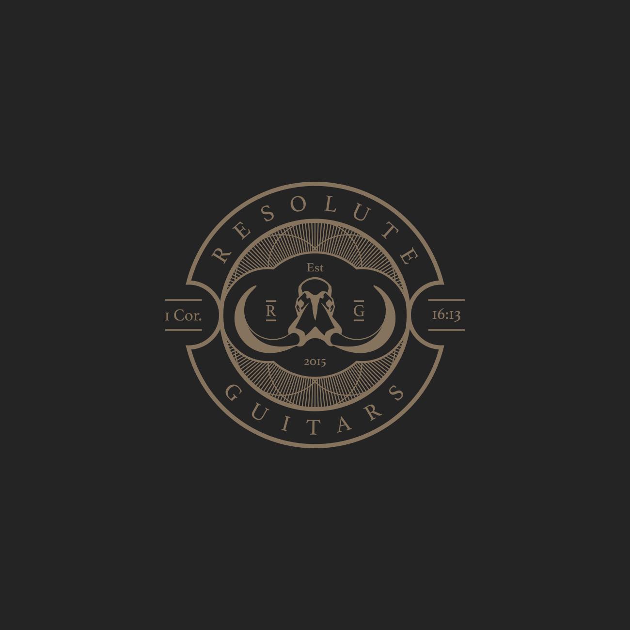 Resolute Guitars Logo Full