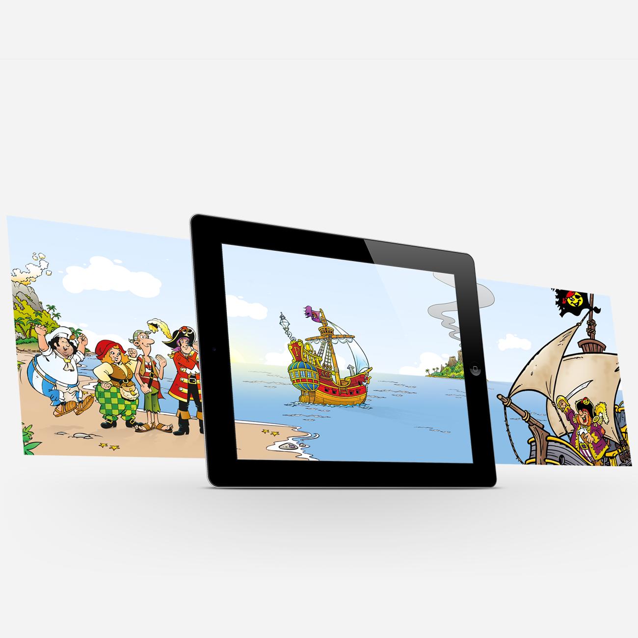 Piet Piraat Schattenjacht IOS Game Movie