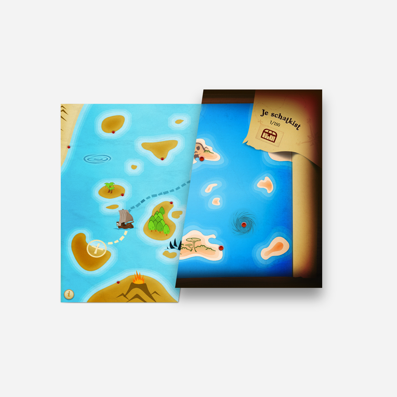 Piet Piraat Schattenjacht IOS Concept Final