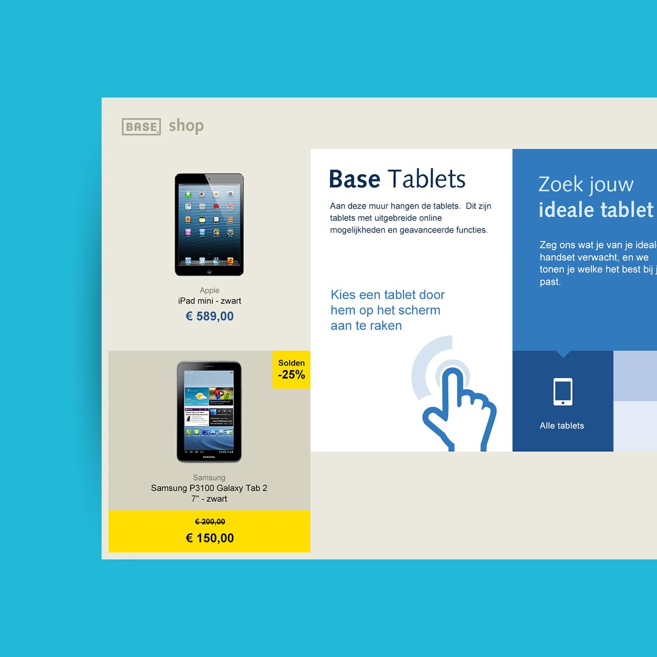 Base - Concept - Dashboard Tablets