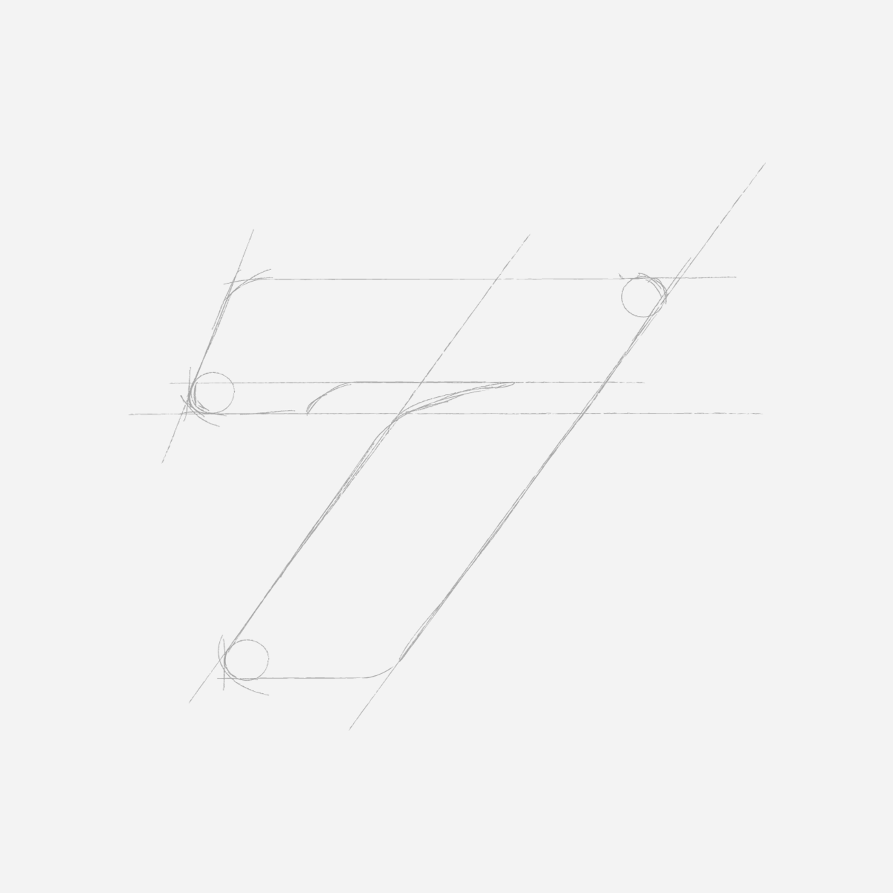 Bike7 - Logo sketch
