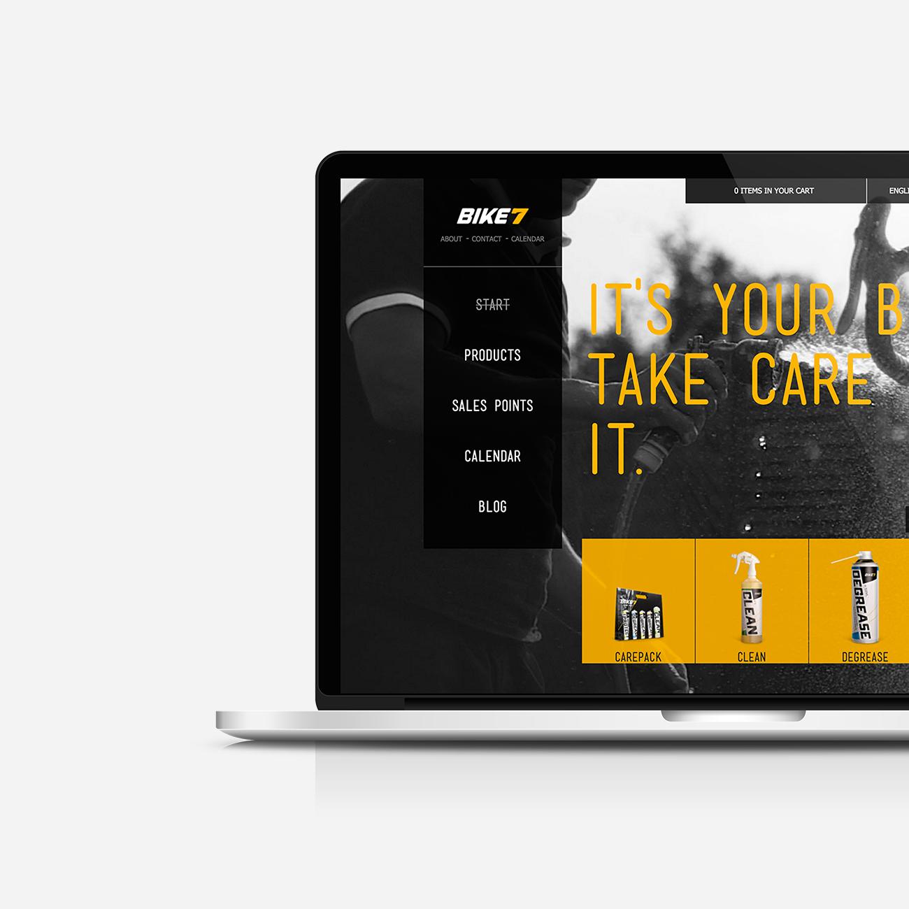 Bike7 - Website